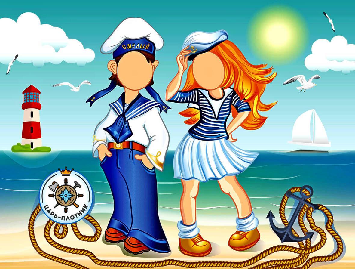 Морем своими, моряк картинки для детей